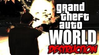 GTA 4: World Destruction! - (Tsunami Mod + Carmageddon Mod COMBINED!) thumbnail