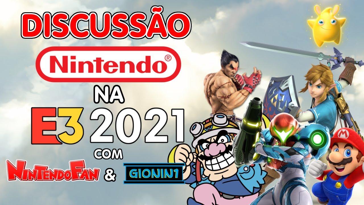 Discussão: Nintendo na E3 2021 (Metroid Dread, Breath of the Wild 2, Mario Party Superstars e Mais)