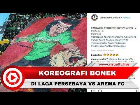 Koreografi Bonek Pada Laga Persebaya Vs Arema FC Curi Perhatian Dunia