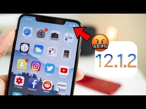iOS 12.1.2 has MAJOR issues