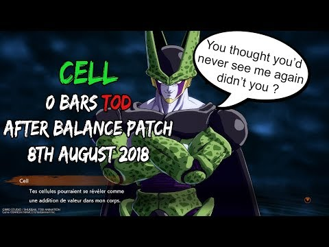 [PATCHED] DBFZ Cell new way to 0 Bar ToD post Patch w/ Bardock (August 2018)   DRAGON BALL FighterZ