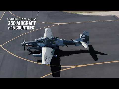 Six A-29 SUPER TUCANO delivered to PHILIPPINE AIR FORCE
