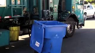 Garbage Trucks vs. Broken Trash Cans