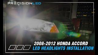 Honda Accord LED Headlights How To Install - 2008-2012