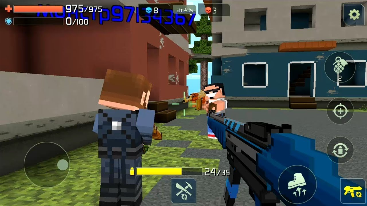 Craft Shooter Online: Guns of Pixel Shooting Games Android ...
