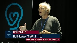 Video Peter Singer - Non-Human Animal Ethics - EA Global Melbourne 2015 download MP3, 3GP, MP4, WEBM, AVI, FLV Oktober 2018