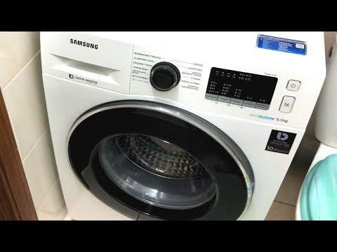 Стиральная машина Samsung WW65J42E0HW. Отзыв после 6 месяцев использования. Обзор режимов и функций