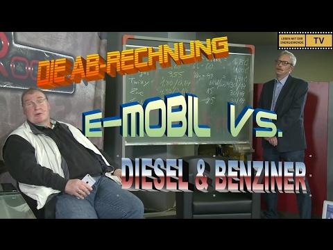 DIE AB-RECHNUNG: E-MOBIL vs. DIESEL & BENZINER