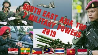 South East Asia Top 7 Military powers 2019-2020 updated