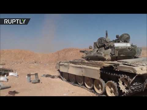 SAA freed eastern countryside of Palmyra from ISIS forces