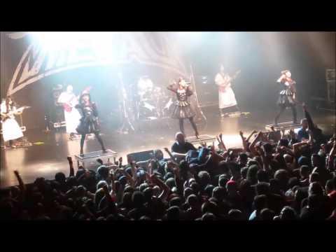BABYMETAL- Boston - 5/5/16 - Road of Resistance (encore)