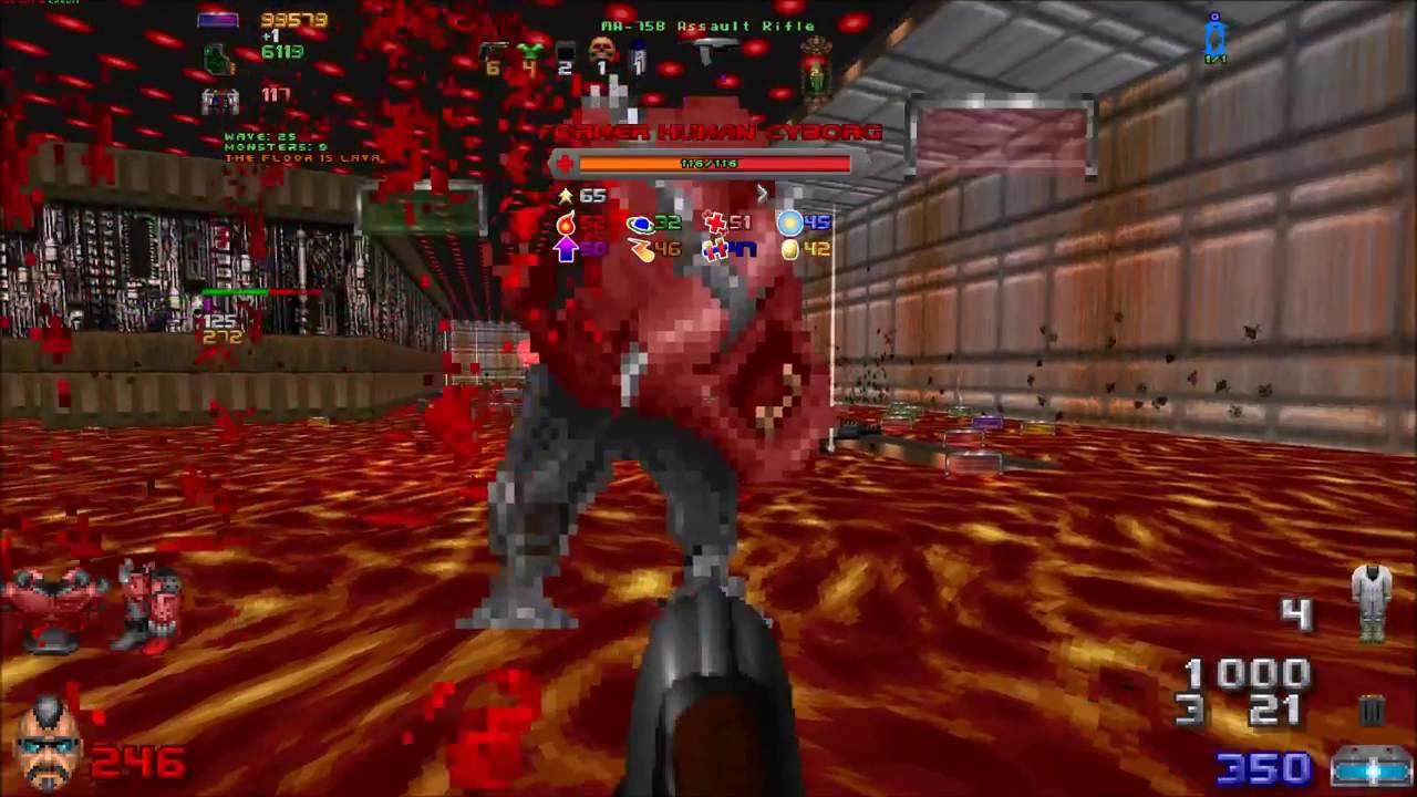 Simutated BloodBath ( Arena Waves 1-100) - Doom RLA + Doom RPG With Alien  Vendetta (Episode #8)