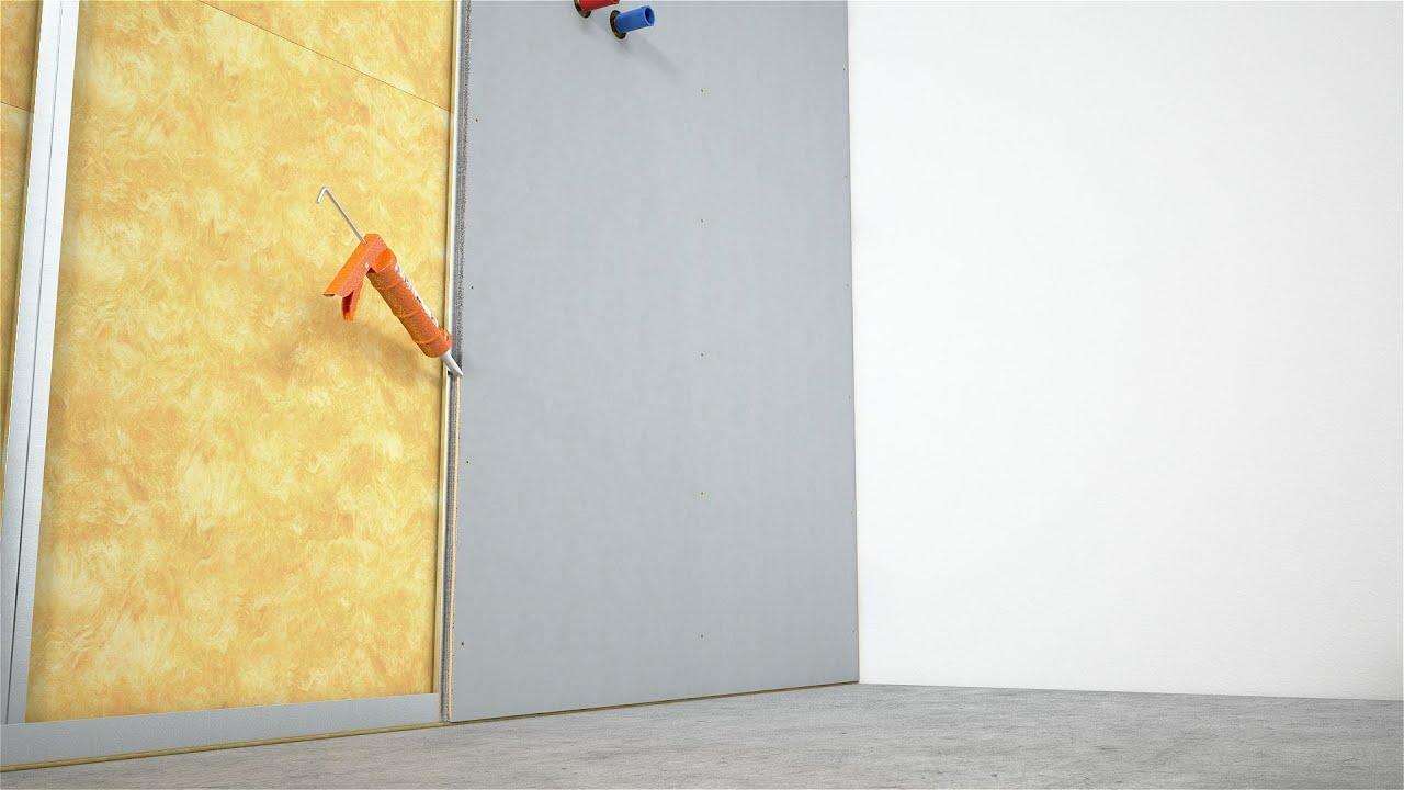 fermacell Powerpanel H2O, de plaat voor alle natte ruimtes - YouTube