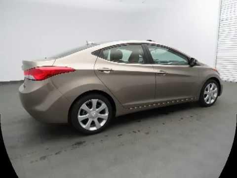 2013 Hyundai Elantra Limited Desert Bronze Sunroof Spring