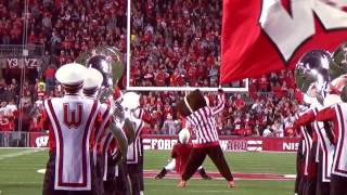 Wisconsin Band Pre Game 10 15 2016