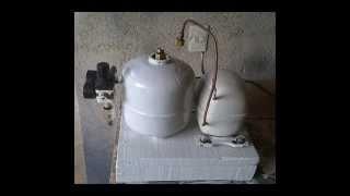 compressor caseiro modelo 2 tutorial parte 1 demonstrao terminado