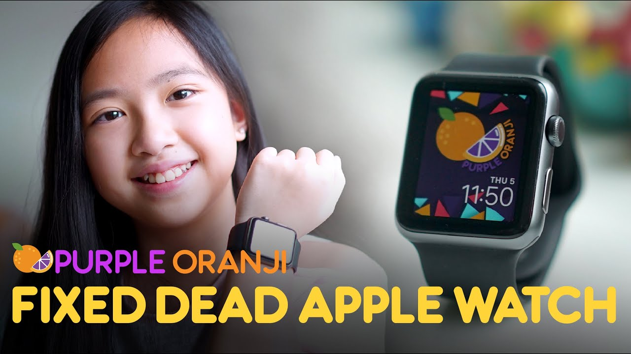 ITS ALIVE!!! - BRING BACK A DEAD APPLE WATCH