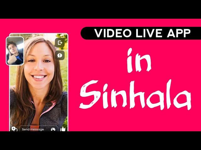 Live Call Video Chatting App In Sinhala  || #VideoChat
