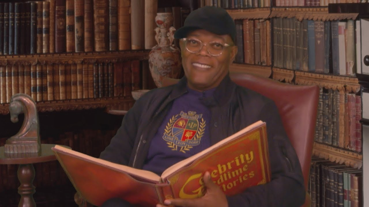 Samuel L. Jackson Reads Us A Bedtime 'Shelter In Story'  [VIDEO]