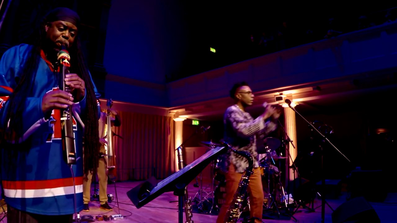Courtney Pine ft Omar |  Butterfly | (live) - 2017
