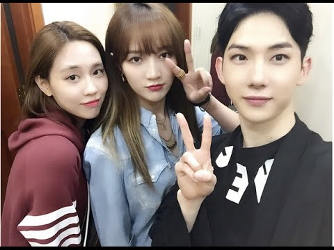 """150620 Miss A's Jia And Fei Visit Jo Kwon At """"Chess"""" Musical"""