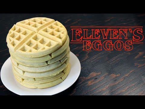 Stranger Things Eleven Eggo Waffles Recipe | How Tasty Channel