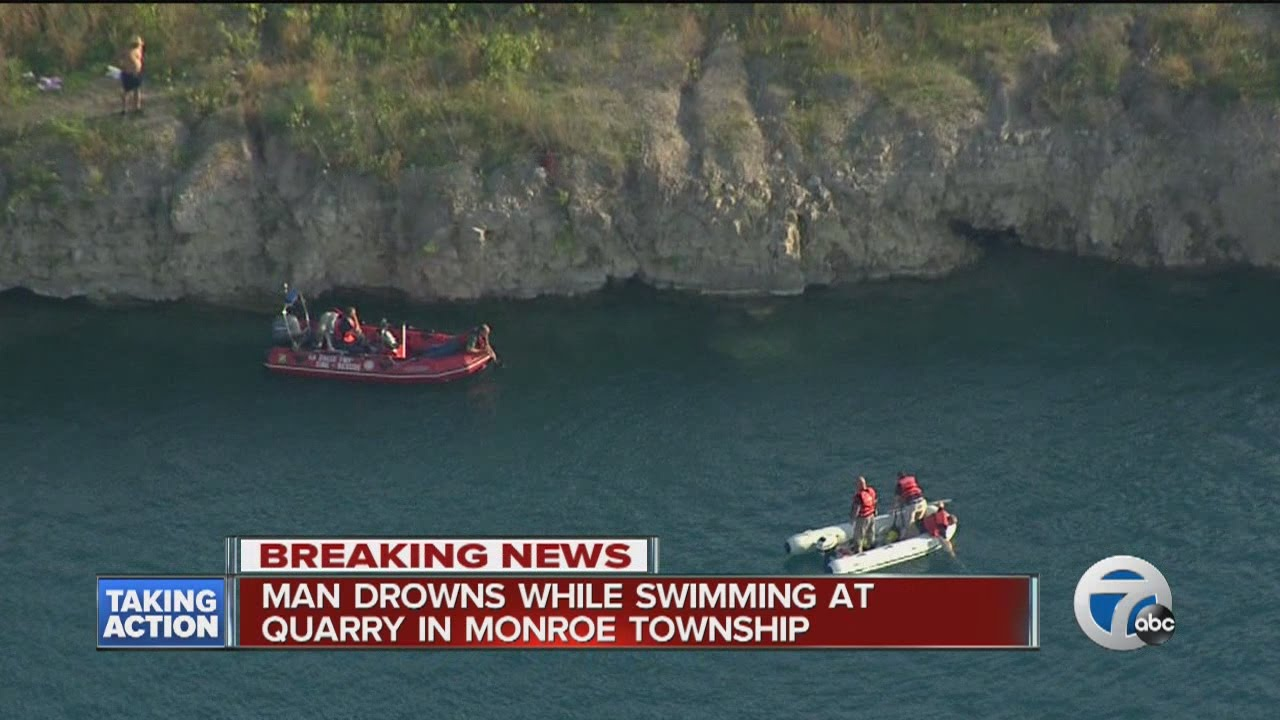 Teen drowns in Monroe Township quarry