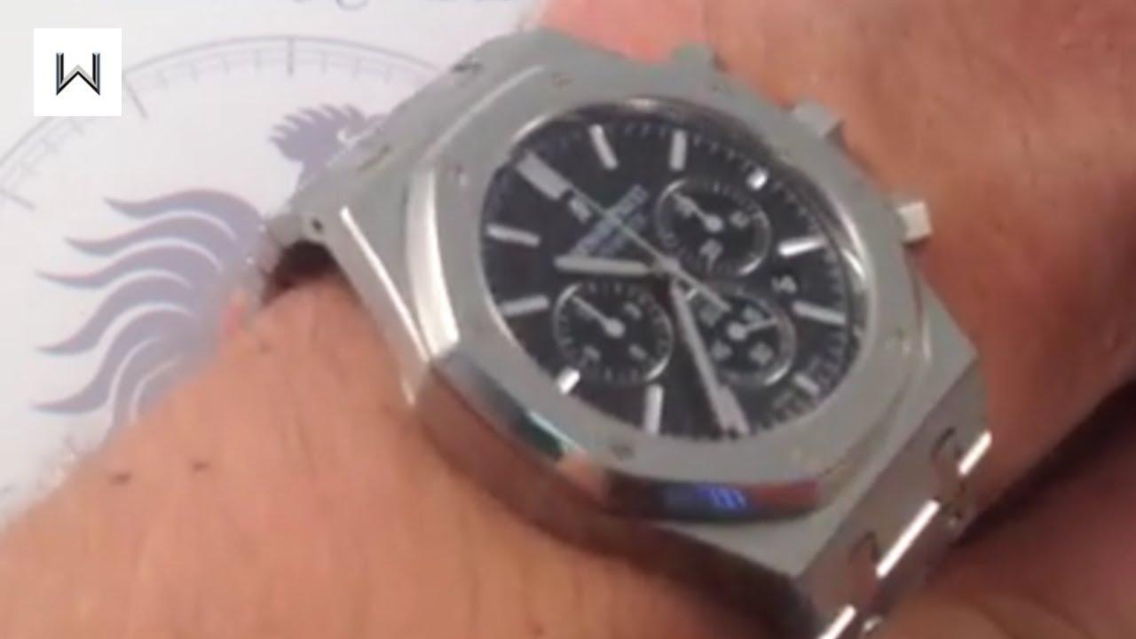 Audemars Piguet Royal Oak Chronograph 26320 Luxury Watch Review