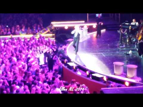8/12 Robbie Williams - Looong Funny Talk + If I Only Had A Brain, Amsterdam 4-5-2014