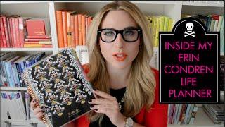 Inside My Erin Condren Life Planner! Thumbnail