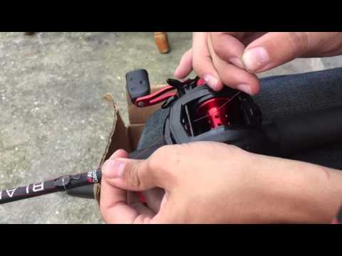 How to line a bait caster