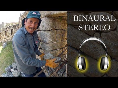 BINAURAL STEREO Machu Picchu Virtual Walkabout #2 - Smarter Every Day 68B