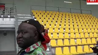 visite du stade la reunificartion de douala   par Vincent Kamto1