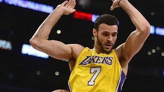 Larry Nance Jr Huge Alley Oop! Lakers 1st 3 Game Win Streak! 2017-18 Season