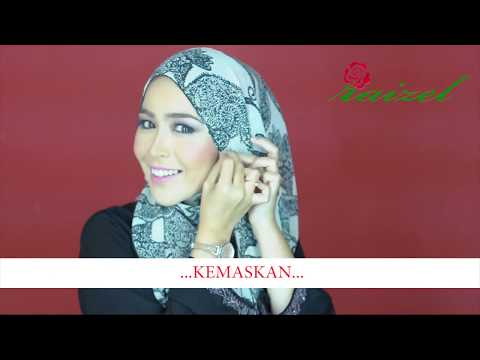 Shawl Express : 1 Minit Cara Pemakaian Tudung By Raizel Collection Travel Video