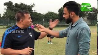 Anuj Shukla in conversation with former India player and coach Anad...