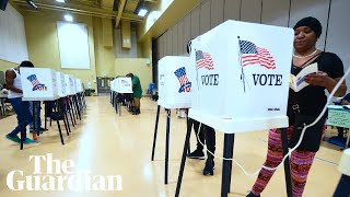 'Bigotry is coming out from under the rocks': midterm voters flock to polls