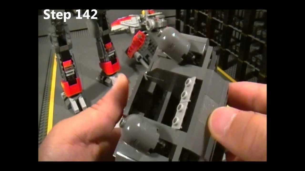 Lego Goliath Instructions Part 5 Of 5 Starcraft Ii Terran Youtube