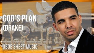 EASY Oboe Sheet Music: How to play God's Plan by Drake