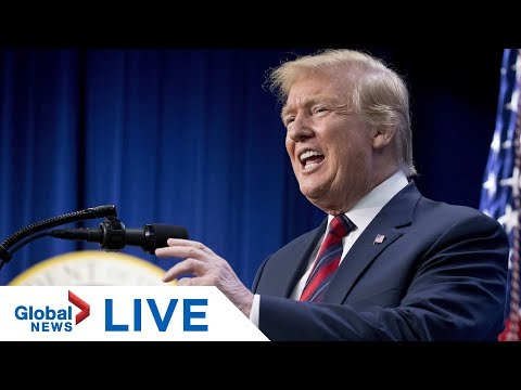 Trump delivers remarks at Wounded Warrior event | LIVE
