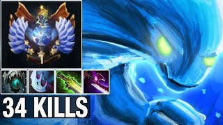 TOP 1 CHINA Paparazi Plays Morphling With 34 Kills and Silver edge - Dota 2