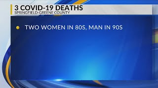 Three more covid-related deaths reported in greene county