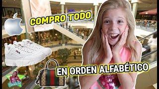 COMPRO TODO EN ORDEN ALFABETICO 😱 GASTO MUCHO DINERO DANIELA GO