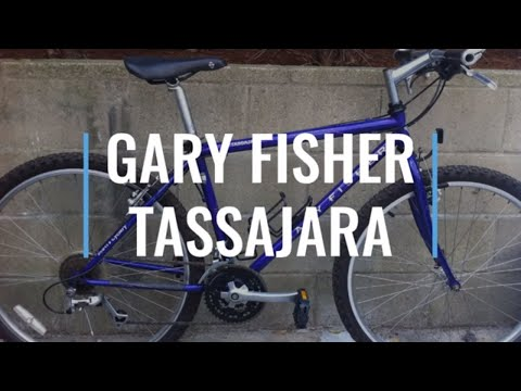 GARY FISHER TASSAJARA Vintage Chromoly Steel Mountain Bike Early 90's