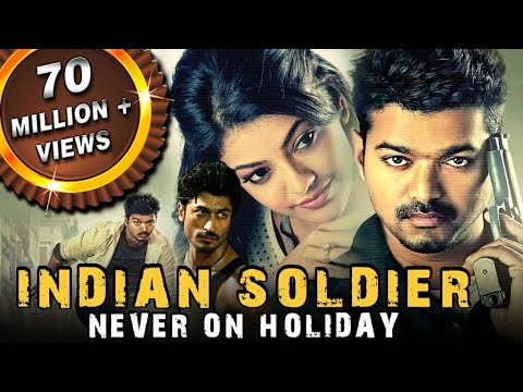 Indian Soldier Never On Holiday (Thupakki) Hindi Dubbed Full Movie | Vijay, Kajal Aggarwal