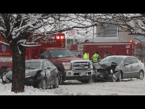 Chicago Area Winter Storm - 1/5/14