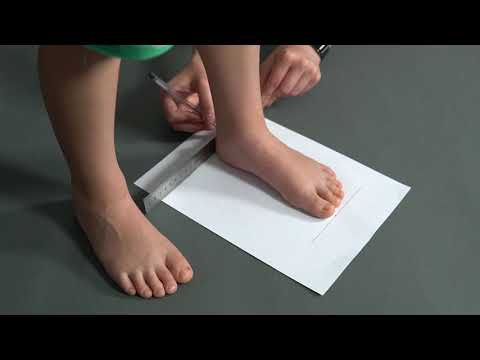 How To Measure Length Of A Foot With A Ruler