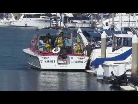 San Diego Flash Fire Onboard Boat 10242018