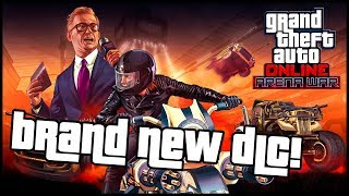 New GTA Online DLC coming tomorrow | GTA Online ARENA WAR
