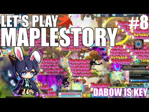LEVEL THE GAINS | MapleStory [DaBow Is Key Ep.8]
